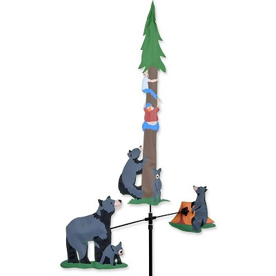 Bear and Campers Single Carousel Spinner