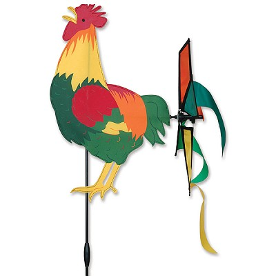 Petite Rooster Wind Spinner