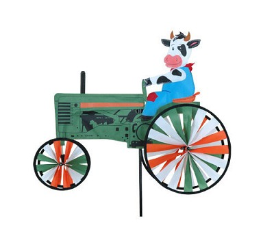 Cow Tractor Spinner Medium