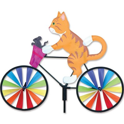 Kitty Bicycle Wind Spinner Medium