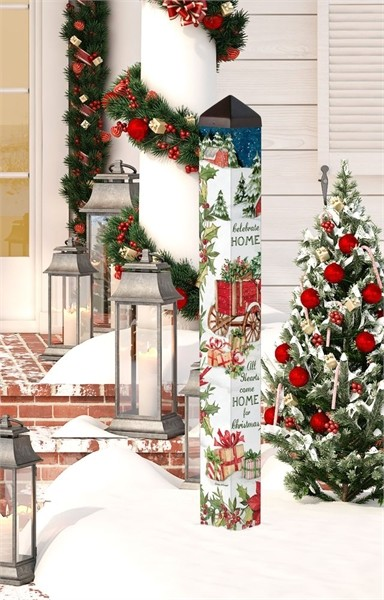 Carolina Christmas 40 Inch Art Pole 4x4