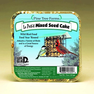 Le Petit Mixed Seed Cake 9 oz 6/Pack