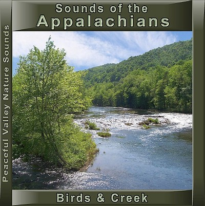 Sounds of the Appalachians Birds & Creek CD