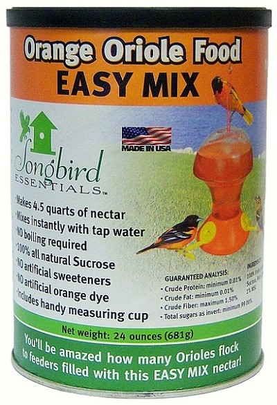 Easy Mix Oriole Nectar 24 ounce