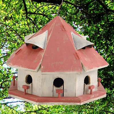 Red Roof Motel Bird House