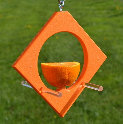 Rubicon Recycled Plastic Diamond Oriole Fruit Feeder
