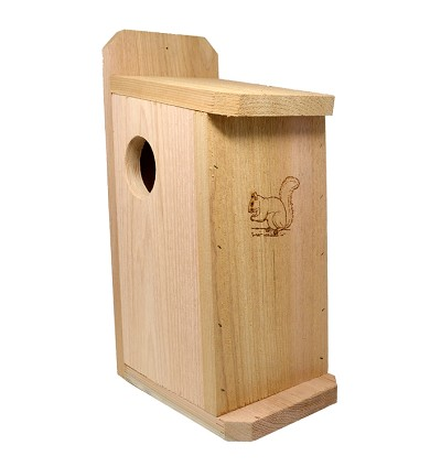 Squirrel Condo - 100% Quality Cedar Construction