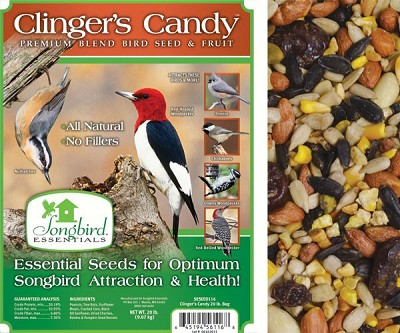 Songbird Essentials Clinger's Candy Bird Seed