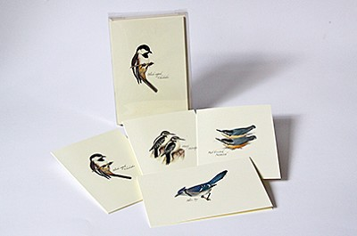 Peterson Bird III Boxed Notecard Assortment Set of 8
