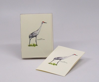 Sandhill Crane Boxed Notecard Assortment Set of 8