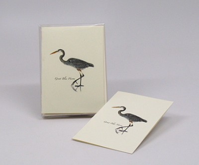 Great Blue Heron Boxed Notecard Assortment Set of 8